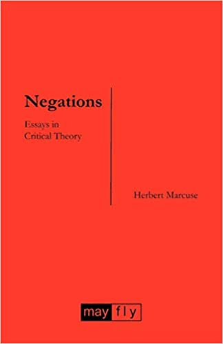 Thumbnail for Negations: Essays in Critical Theory